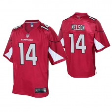 Youth Arizona Cardinals #14 J. J. Nelson Cardinal Player Pro Line Jersey