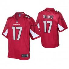 Youth Arizona Cardinals #17 Jalen Tolliver Cardinal Player Pro Line Jersey