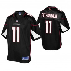 Youth Arizona Cardinals #11 Larry Fitzgerald Black Alternate Pro Line Jersey
