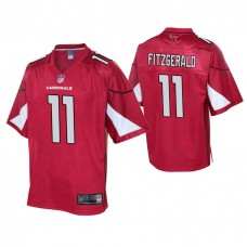Youth Arizona Cardinals #11 Larry Fitzgerald Cardinal Player Pro Line Jersey