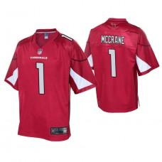 Youth Arizona Cardinals #1 Matt McCrane Cardinal Player Pro Line Jersey