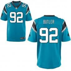 Carolina Panthers #92 Vernon Butler Navy Blue Alternate Elite Jersey