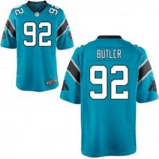 Carolina Panthers #92 Vernon Butler Navy Blue Alternate Game Jersey