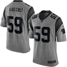 Carolina Panthers #59 Luke Kuechly Gridiron Gray Limited Jersey