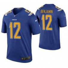 Los Angeles Chargers #12 Travis Benjamin Royal Color Rush Legend Jersey