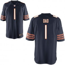 Chicago Bears Navy #1 Dad Jersey - Father's Day