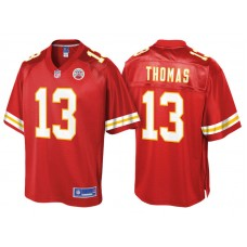Women's Kansas City Chiefs #13 DeAnthony Thomas Red Pro Line Jersey