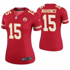 Women's Kansas City Chiefs #15 Patrick Mahomes II Red Color Rush Legend Jersey