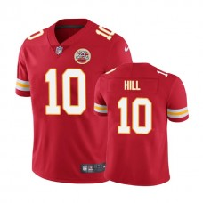 Kansas City Chiefs #10 Tyreek Hill Red Vapor Untouchable Limited Player Jersey