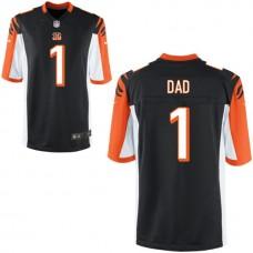 Cincinnati Bengals Black #1 Dad Jersey - Father's Day
