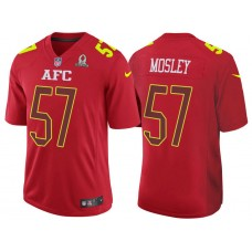 2017 Pro Bowl AFC C.J. Mosley Red Game Jersey