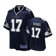 Dallas Cowboys #17 Allen Hurns Navy Player Pro Line Jersey