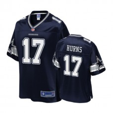 Youth Dallas Cowboys #17 Allen Hurns Navy Player Pro Line Jersey