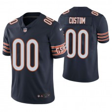 Chicago Bears Navy Vapor Untouchable Limited Player Customized Jersey