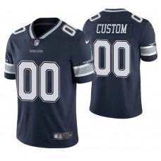 Dallas Cowboys Navy Vapor Untouchable Limited Player Customized Jersey