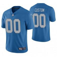 Detroit Lions Blue Vapor Untouchable Limited Player Customized Jersey