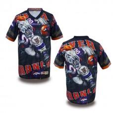 Denver Broncos Fanatical Fashion Blank Jersey