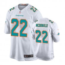 Miami Dolphins #22 T. J. McDonald White New 2018 Game Jersey