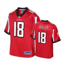 Atlanta Falcons 2018 Draft #18 Calvin Ridley Red Player Pro Line Jersey