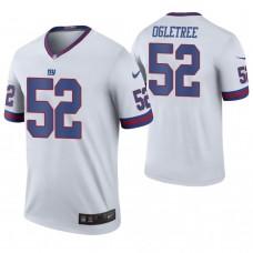 New York Giants #52 Alec Ogletree White Color Rush Legend Jersey