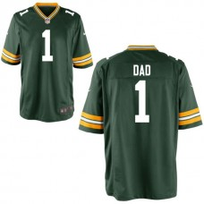 Green Bay Packers Green #1 Dad Jersey - Father's Day