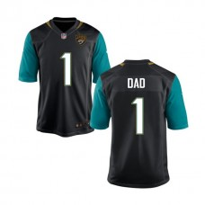 Jacksonville Jaguars Black #1 Dad Jersey - Father's Day