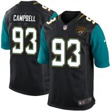 Jacksonville Jaguars Calais Campbell Black Game Jersey