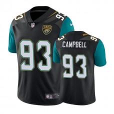 Jacksonville Jaguars #93 Calais Campbell Black Vapor Untouchable Limited Player Jersey