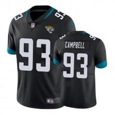 Jacksonville Jaguars #93 Calais Campbell Black New 2018 Vapor Untouchable Limited Jersey