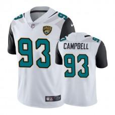 Jacksonville Jaguars #93 Calais Campbell White Vapor Untouchable Limited Player Jersey