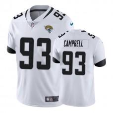 Jacksonville Jaguars #93 Calais Campbell White New 2018 Vapor Untouchable Limited Jersey