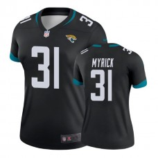 Women's Jacksonville Jaguars #31 Jalen Myrick Black New 2018 Legend Jersey