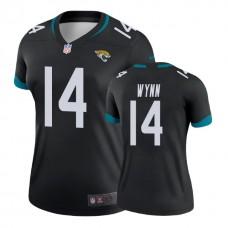 Women's Jacksonville Jaguars #14 Shane Wynn Black New 2018 Legend Jersey
