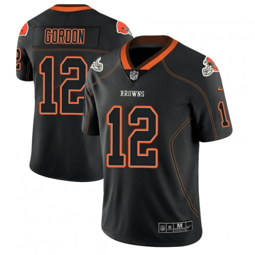 Cleveland Browns #12 Josh Gordon 2018 Lights Out Color Rush ...