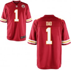 Kansas City Chiefs Red #1 Dad Jersey - Father's Day