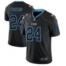 Tennessee Titans #24 Kenny Vaccaro 2018 Lights Out Color Rush Limited Black Jersey
