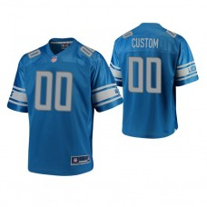 Youth Detroit Lions Blue Player Pro Line Customized Jersey