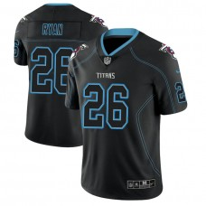 Tennessee Titans #26 Logan Ryan 2018 Lights Out Color Rush Limited Black Jersey