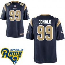 Los Angeles Rams #99 Aaron Donald Navy Blue Game Jersey