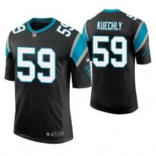 Carolina Panthers #59 Luke Kuechly Black Vapor Untouchable Limited Player Jersey