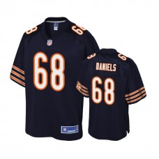 Chicago Bears #68 James Daniels Navy 2018 Draft Player Jersey