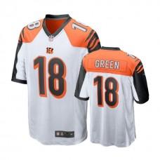 Cincinnati Bengals #18 A.J. Green Green Game Jersey