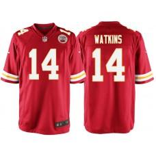new york 5fb46 5690d 14 Kansas City Chiefs Sammy Watkins Jerseys Team Color Home ...
