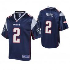 2 New England Patriots Doug Flutie Jerseys Team Color Home, Away ...