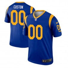 Los Angeles Rams Royal Legend Customized Jersey
