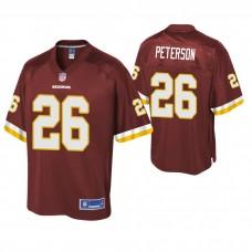 Washington Redskins #26 Adrian Peterson Burgundy Pro Line Jersey