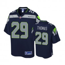 Seattle Seahawks #29 Earl Thomas Navy Pro Line Player Jersey