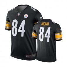 Pittsburgh Steelers #84 Antonio Brown Black Legend Jersey