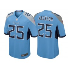Tennessee Titans #25 Adoree' Jackson Light Blue 2018 Game Jersey