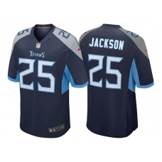 Tennessee Titans #25 Adoree' Jackson Navy 2018 Game Jersey